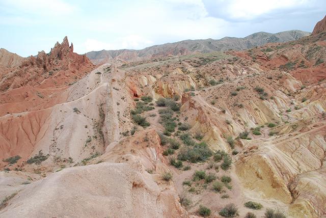 Kyrgystand 22 dagen Canyon