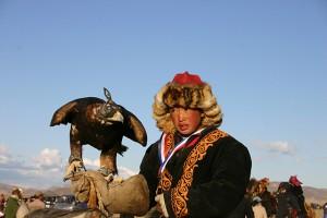 Mongolie incl jongen met adelaar