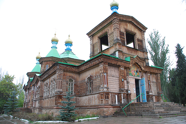 Kyrgystan 22 dagen kerk