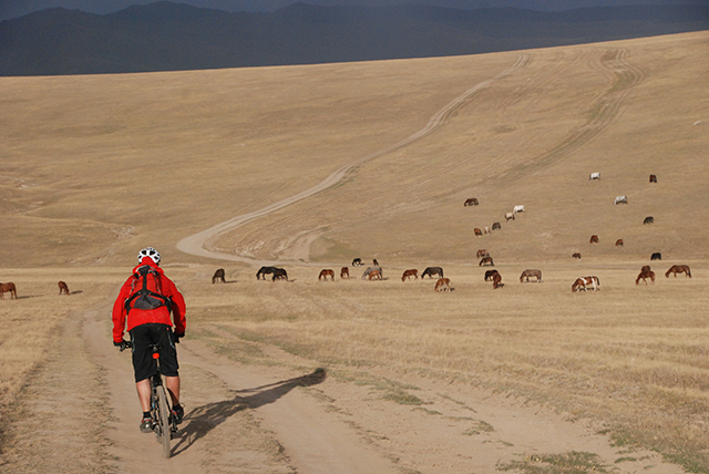 Kyrgystan 16 dagen biker