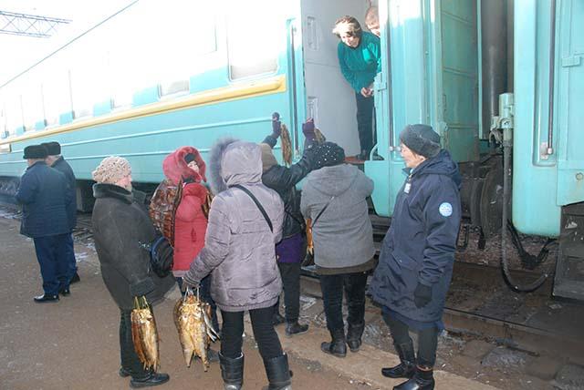 Kazachstan trein