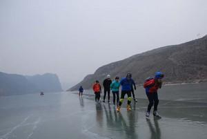 China 13 dagen schaatsen