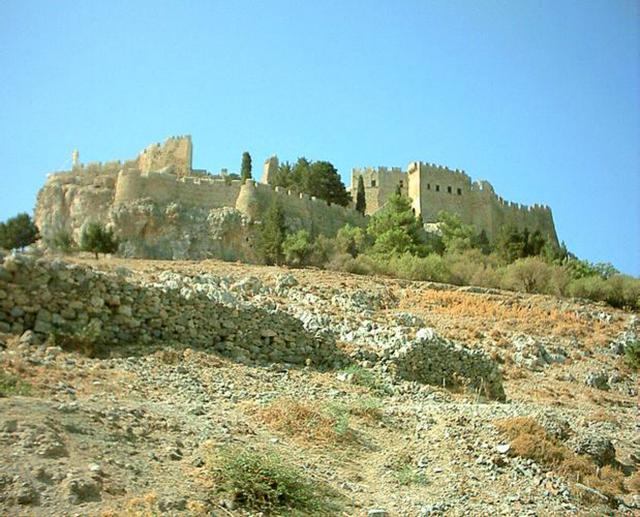 Rhodos MBLindos kasteel
