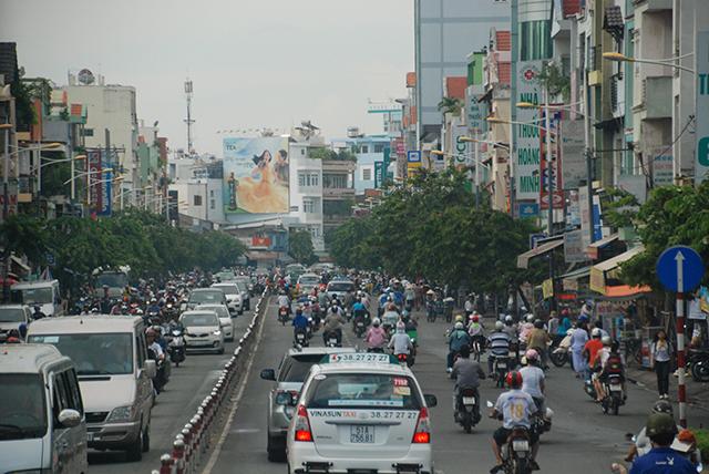 Vietnam Mekong Stadsverkeer