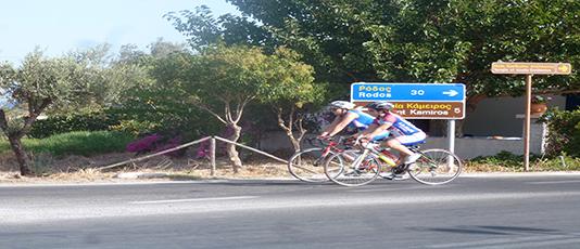 Rhodos Wielrennen Start 2